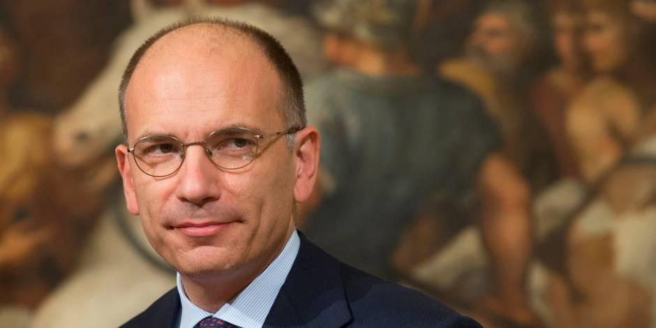 """Enrico Letta redoute """"l'Europe des populismes"""""""