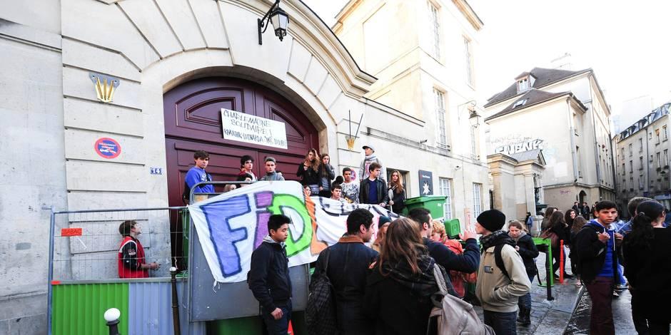France: la mobilisation des lycéens dans l'affaire Leonarda s'essouffle