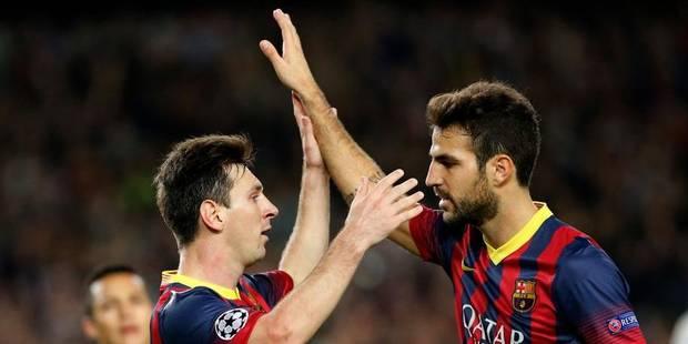 L'Atletico et Courtois qualifiés pour les 8e, le Barça bat Milan - La Libre