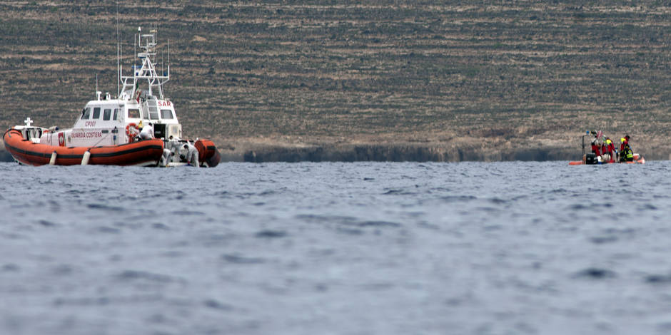 Un Somalien arrêté après le naufrage qui avait fait 366 morts près de Lampedusa