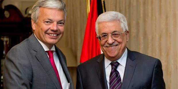 """La Belgique rehausse en """"Mission"""" le statut de la Délégation palestinienne à Bruxelles - La Libre"""