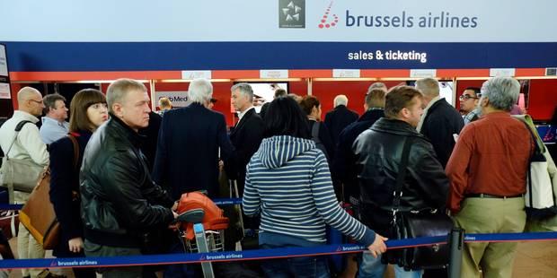 Grève chez Brussels Airlines : ?pas d'indemnités prévues? pour les passagers lésés - La Libre