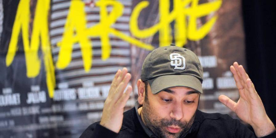 """Une chanson liée au film """"La Marche"""" fait bondir Charlie Hebdo"""