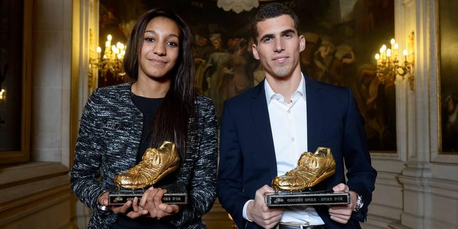 Jonathan Borlée et Nafissatou Thiam élus meilleurs athlètes belges de l'année