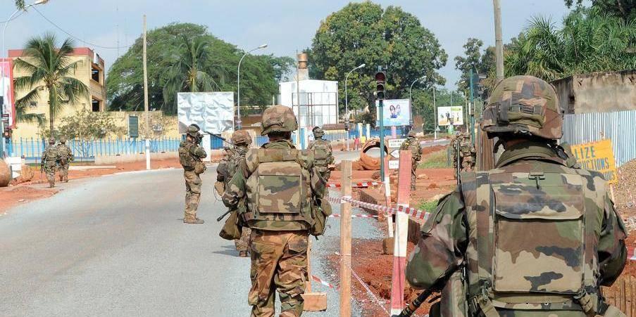 """""""Entrez comme chez vous!"""": les renforts français arrivent en Centrafrique"""