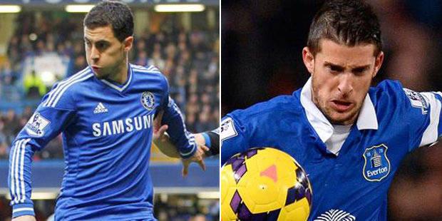 Belges à l'étranger: Hazard et Lukaku passeurs, Mirallas buteur