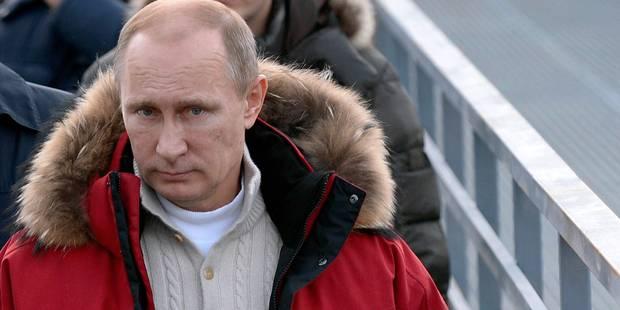 """Sotchi: Poutine autorise les manifestations dans une """"zone spéciale"""" - La Libre"""