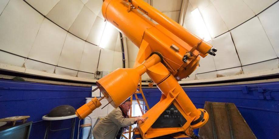 Liège : l' observatoire de Cointe . Vue intérieure