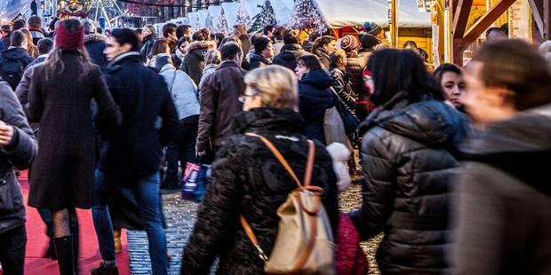 Grand succès pour la Cité de Noël à Liège - La Libre