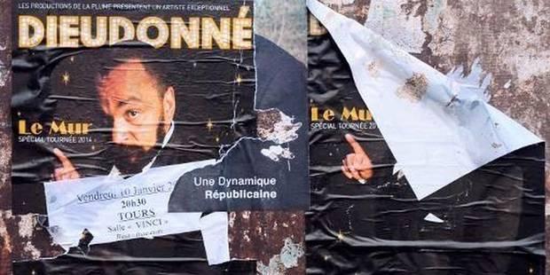 """Dieudonné abandonne """"Le Mur"""" pour un autre spectacle - La Libre"""