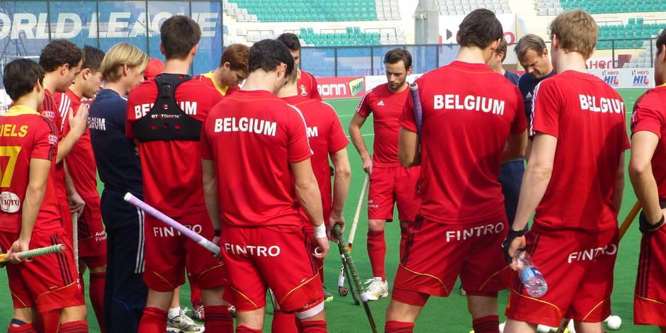 Hockey: Les Red Lions affronteront l'Angleterre en quarts de finale