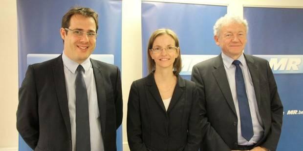 Anne Barzin et François Bellot têtes de liste MR - La Libre