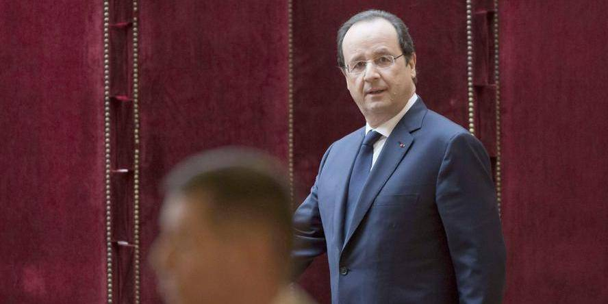 Hollande a rendu visite à Valérie Trierweiler