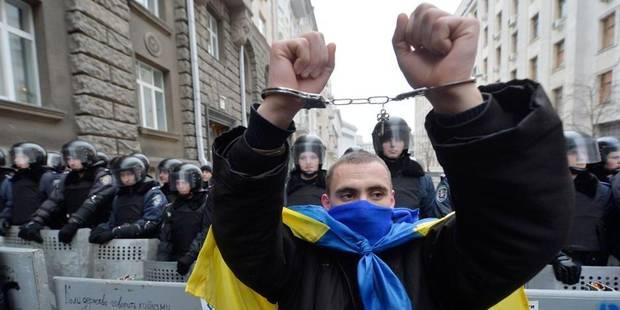 Ukraine : Ianoukovitch promulgue de nouvelles lois contre les manifestations - La Libre