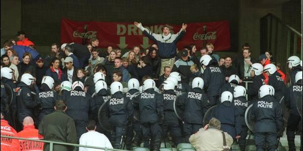 592 années d'interdiction de stade infligées en 2013 - La Libre