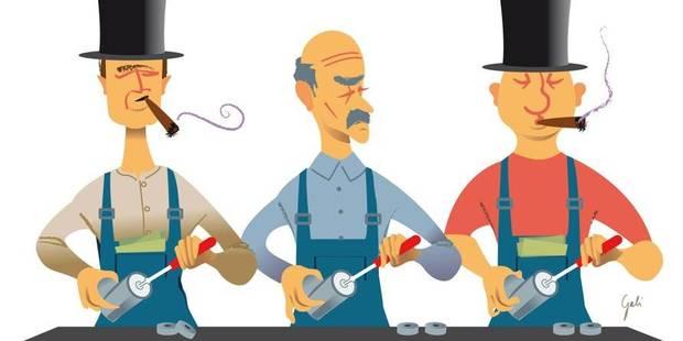 Capitalistes en bleu de travail - La Libre