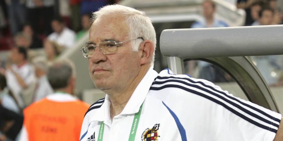 L'ancien sélectionnaur espagnol, Luis Aragonès, est décédé