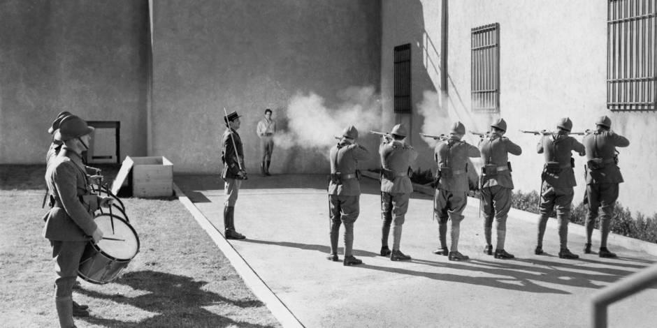 Le retour du peloton d'exécution?