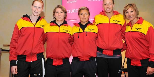 Fed Cup: Yanina et An-Sophie s'inclinent face aux Pays-Bas, la Belgique menée 0-2 - La Libre