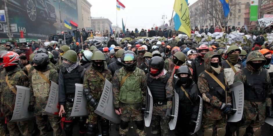 Ukraine: 70.000 manifestants dans le centre de Kiev