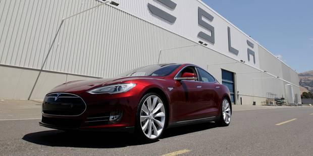 Tesla booste la voiture électrique en parcourant 5.500 km en trois jours - La Libre