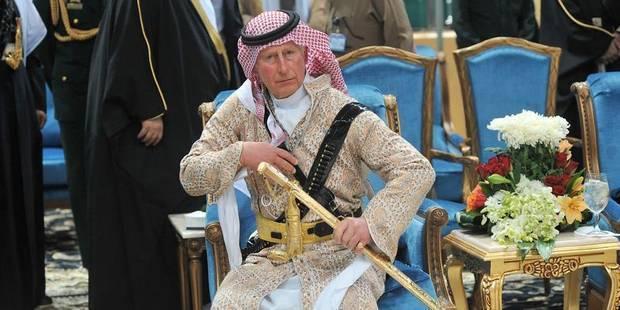 """La danse """"spéciale"""" du prince Charles"""
