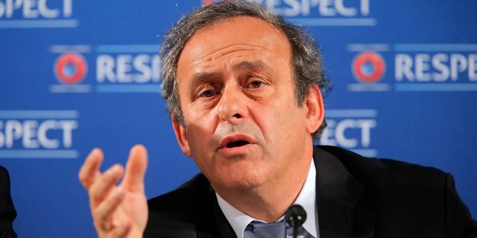 """Michel Platini: """"Pas de soucis majeurs"""" à l'Euro-2016"""