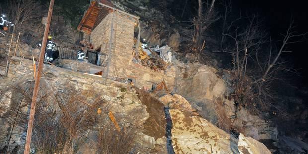 Un chalet écrasé par un rocher dans les Alpes françaises, deux enfants tués - La Libre