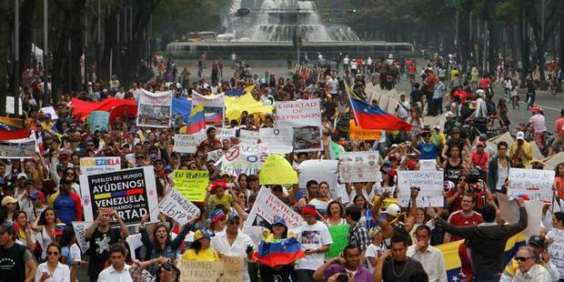 Venezuela: rassemblement pro-Maduro dans le centre de Caracas - La Libre