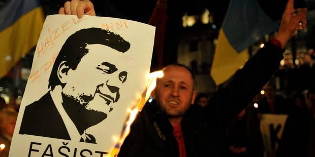 """Ukraine: Ianoukovitch recherché par la police pour """"meurtres de masse"""" - La Libre"""