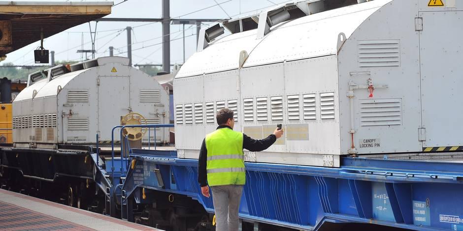 Neuf transports de combustible irradié transiteront par la Belgique d'ici 2016