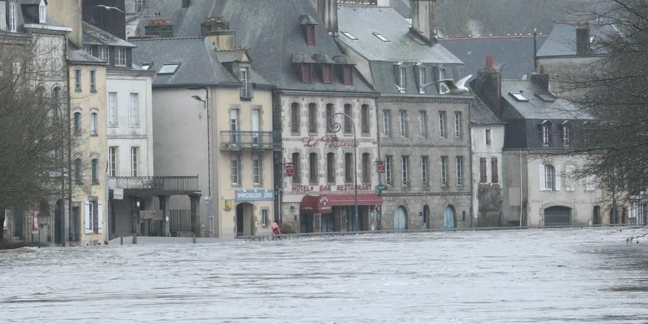 Le coût des inondations pourrait doubler d'ici 2050 en Europe