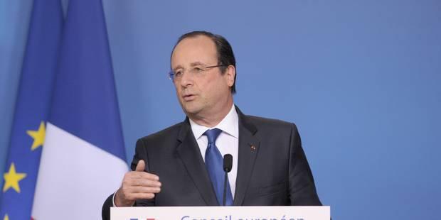 """Hollande: """"Toute comparaison avec des dictatures est forcément insupportable"""" - La Libre"""