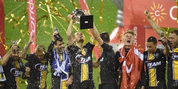 Lokeren remporte la Coupe de Belgique (1-0) - La Libre