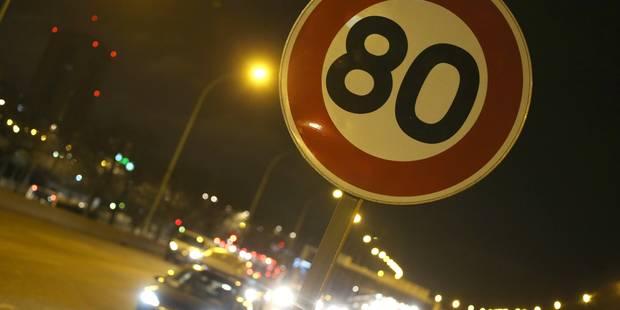 Faut-il encore réduire la vitesse autorisée sur les routes? - La Libre