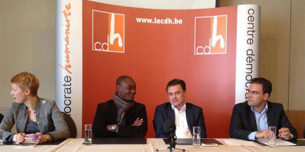 Candidat cdH aux prochaines élections, Jérôme Nzolo est affilié... au PS - La Libre