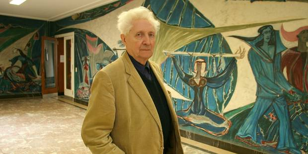 Décès du peintre Roger Somville, le peintre de la station Hankar - La Libre