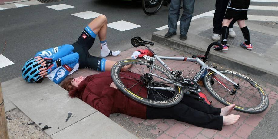 Accident au tour des Flandres: Vansummeren est-il en faute?