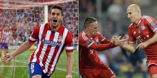 Champion's League: l'Atletico et le Bayern rejoignent le Real et Chelsea en demi-finales