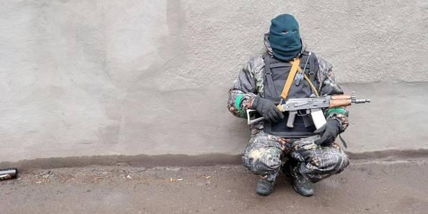 """Opération """"antiterroriste"""" en Ukraine: """"des morts et des blessés"""" des deux côtés - La Libre"""