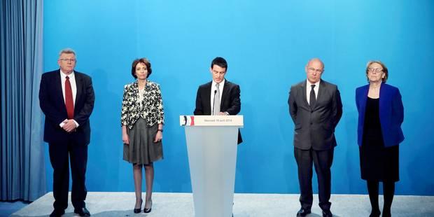 Manuel Valls dévoile son plan d'économies de 50 milliards d'€ - La Libre
