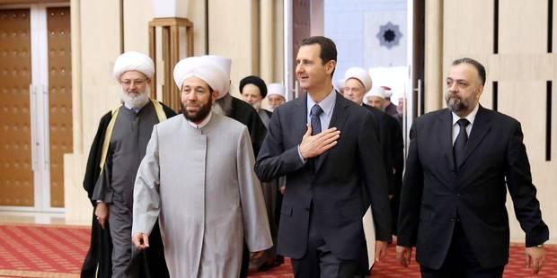 """Le régime syrien dit vouloir organiser une présidentielle """"libre"""" - La Libre"""