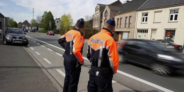 Sécurité routière: les policiers fictifs ont-ils un effet dissuasif ? - La Libre