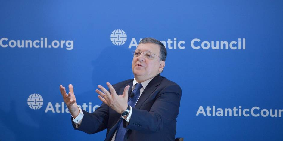 """Pour Barroso, le but de Poutine est le """"contrôle total"""" de l'Ukraine"""