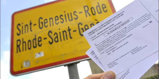 Rhode-Saint-Genèse enverra aussi les convocations électorales dans les deux langues - La Libre