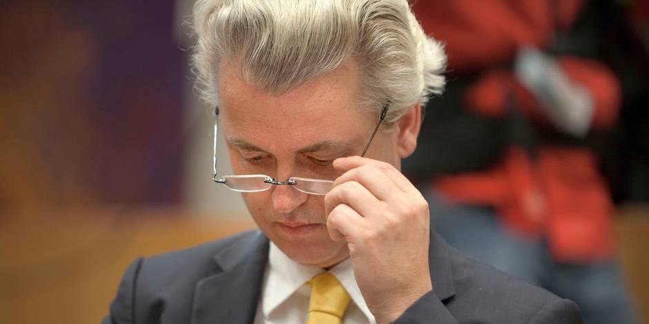 Geert Wilders rêve de sortir les Pays-Bas de l'Union - La Libre