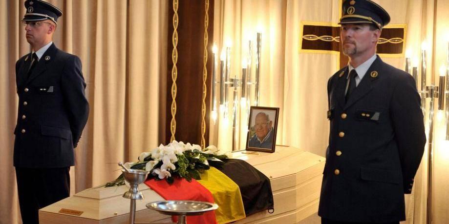 Le Roi Albert et la Reine Paola rendent hommage à Jean-Luc Dehaene