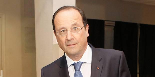 """François Hollande voit la montée du FN comme """"une vérité douloureuse"""" - La Libre"""
