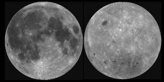 Pourquoi les deux faces de la Lune n'ont-elles pas le même aspect?