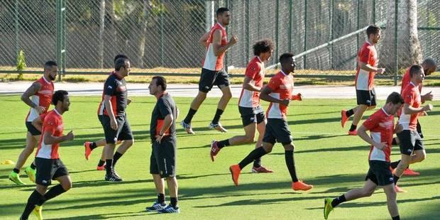 De Bruyne et Origi se sont entrainés à Belo Horizonte - La Libre